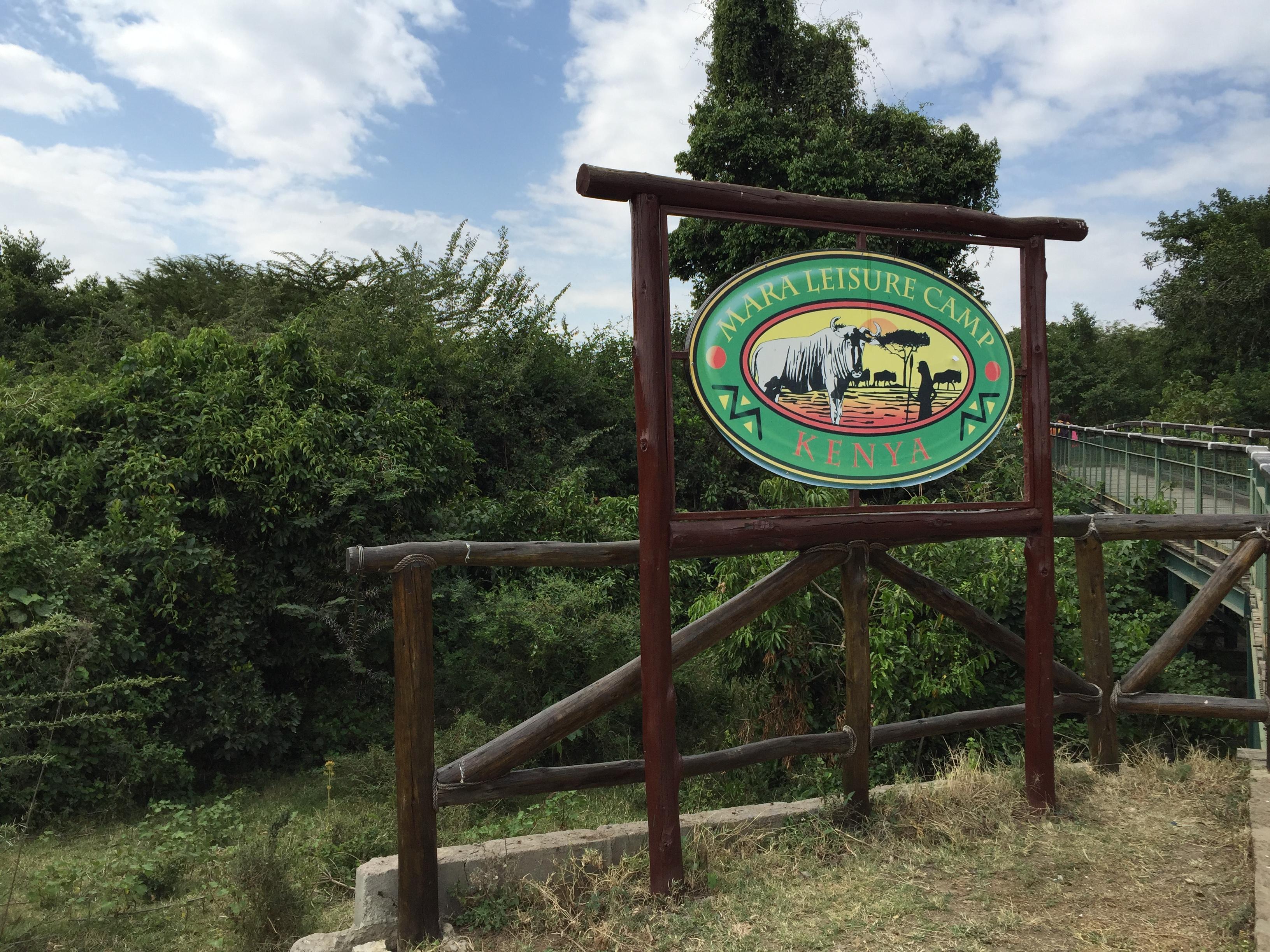 ケニヤのマサイマラ国立保護区にあるMara Leisure Campに宿泊しました。