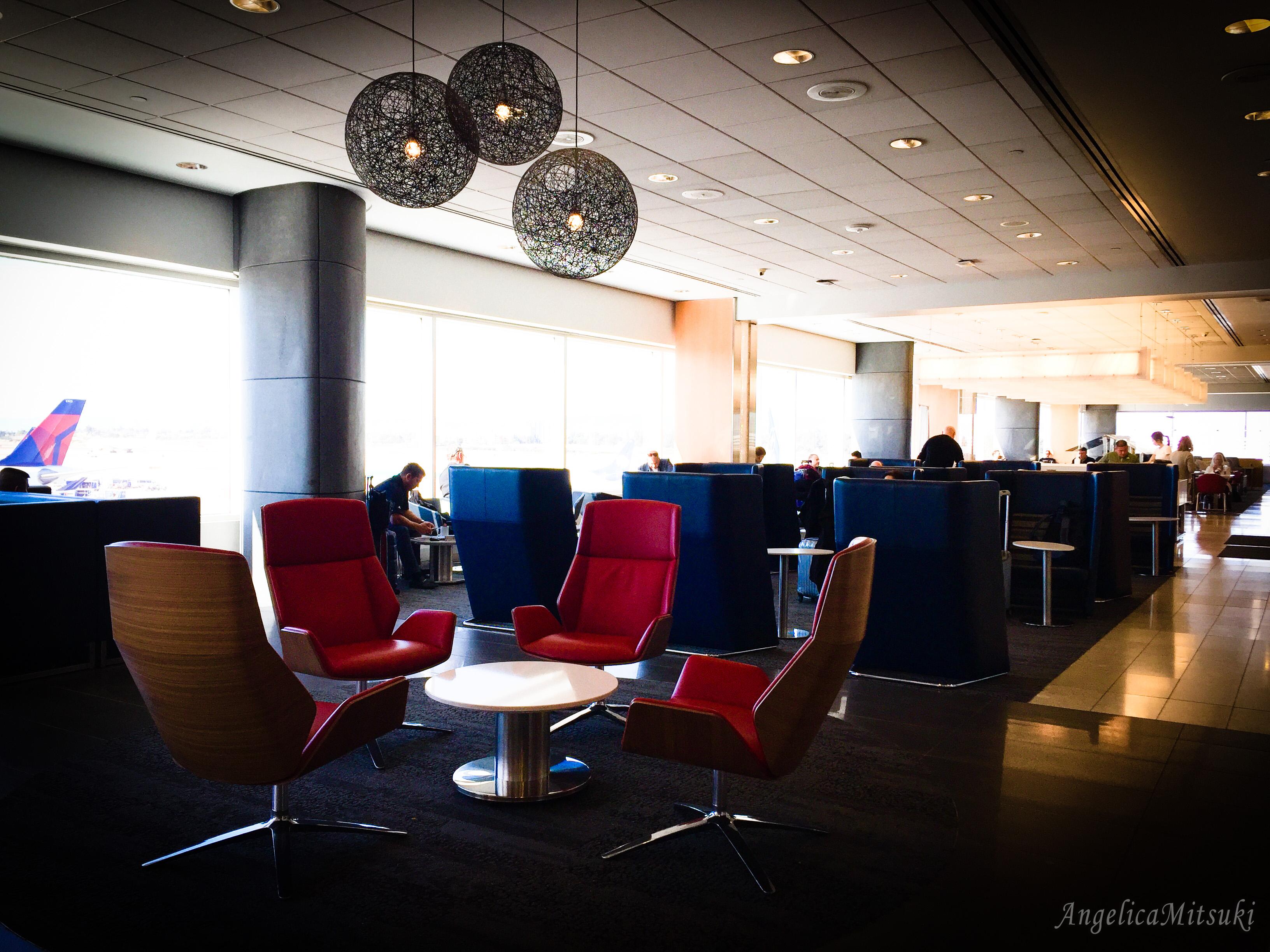 ロサンゼルス空港(LAX)にあるデルタのスカイラウンジが素晴らしい!