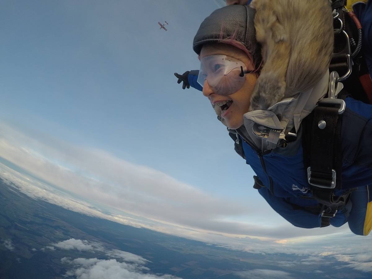 高度15000ftからのスカイダイビングをニュージーランドで初体験!!